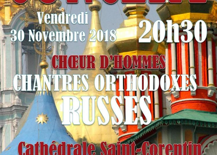 Chantres Orthodoxes Russes à Quimper