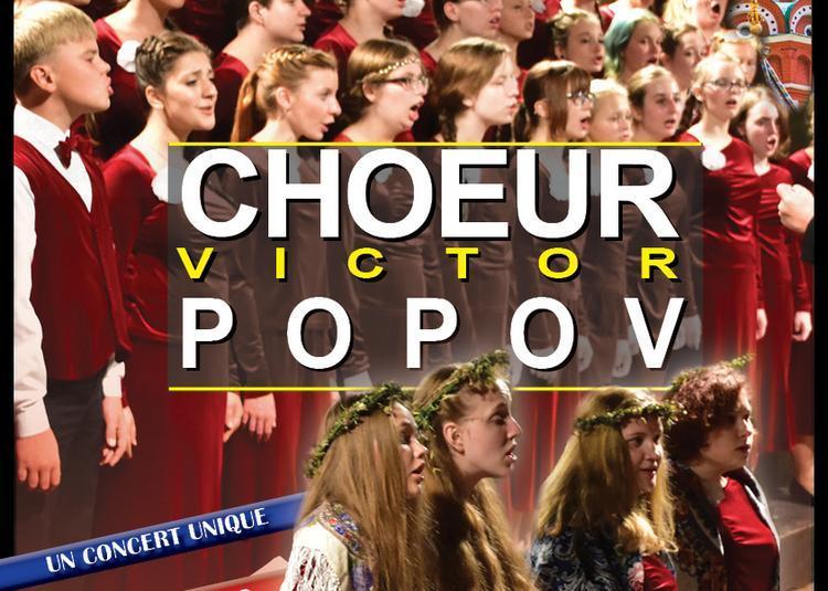 Concert Choeur Victor Popov à Jonzac
