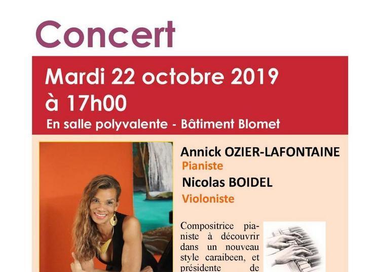 Concert Classique - Piano Et Violon à Paris 15ème
