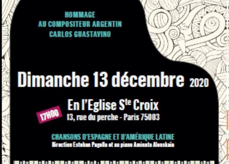 Concert Concert Voces Latinas à Paris 3ème