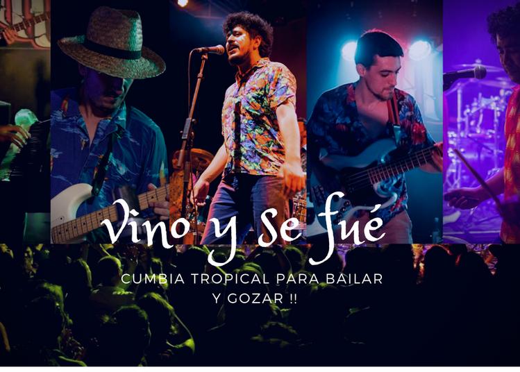 Concert Cumbia - Vino y se fué à Marseille