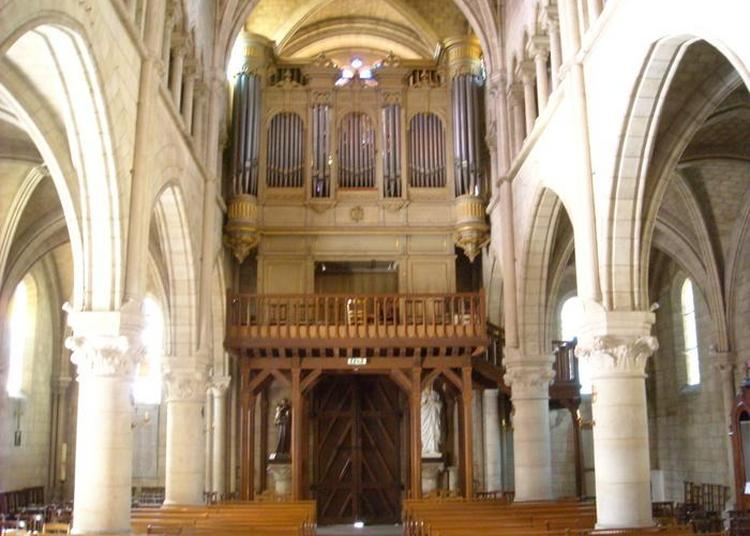 Concert D'orgue à L'église Notre-dame-de-l'assomption à Bougival