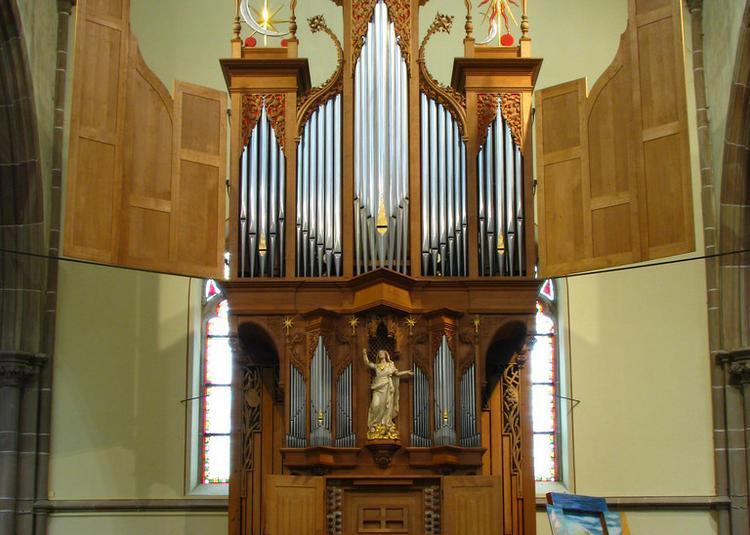Concert d'orgue à Sarralbe par Francis Jacob dans le cadre du stage d'été