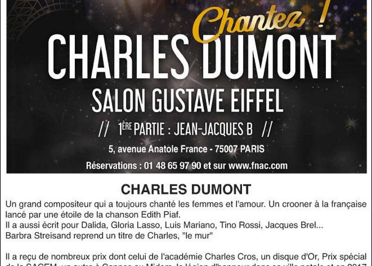 Concert de Charles Dumont à Paris 7ème