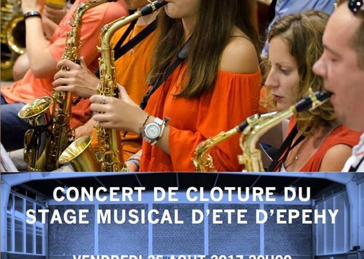 Concert de clôture du stage musical d'Epehy à Roisel