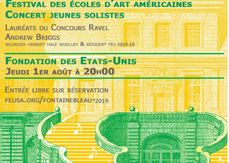 Concert de jeunes solistes | Ecoles d'art américaines à Paris 14ème