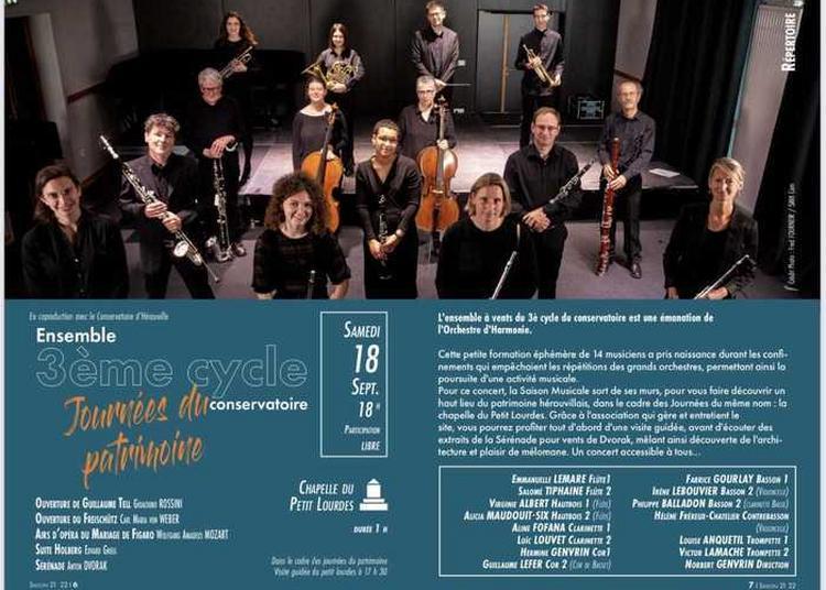 Concert De L'ensemble à Vents à Herouville saint Clair