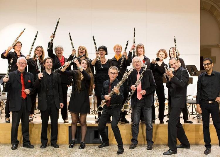 Concert de l'Ensemble de Clarinettes du Jura autour des oeuvres de Gustave Courbet à Lons le Saunier