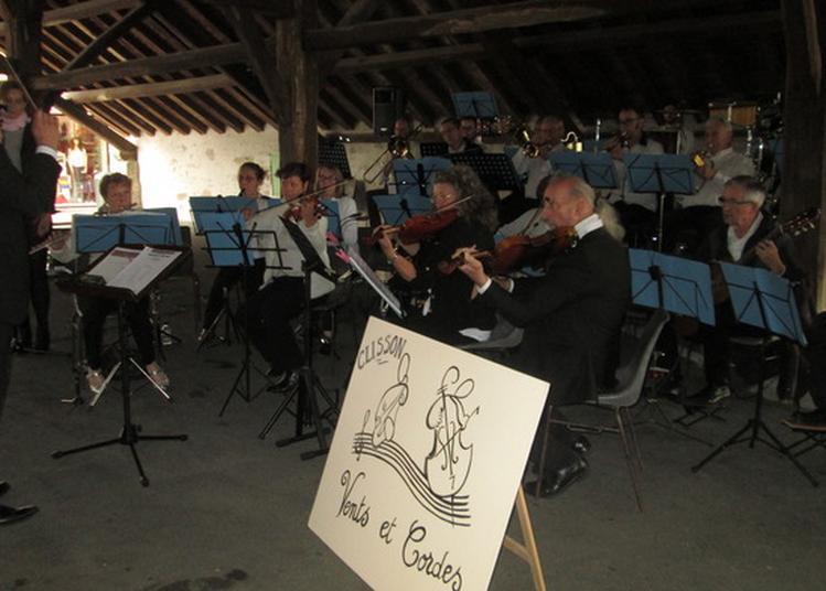 Concert De L'harmonie Vents Et Cordes Accompagnée De L'harmonie De Nord Sur Erdre à Clisson