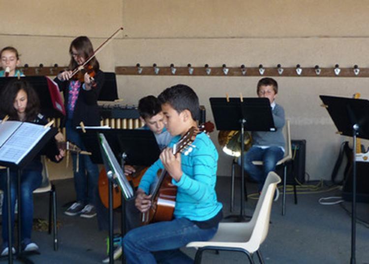 Concert De L'orchestre À Cordes Du Conservatoire De Musique Du Bocage Bressuirais à Mauleon