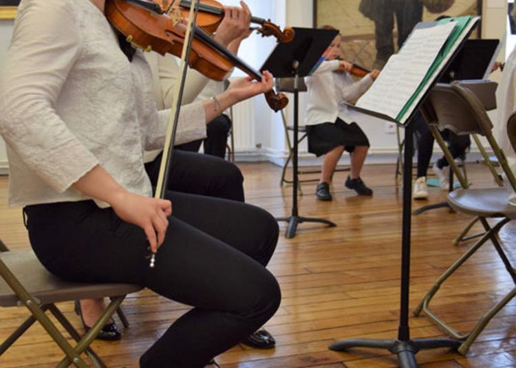 Concert De L'orchestre à Cordes Du Conservatoire Municipal- Senlis
