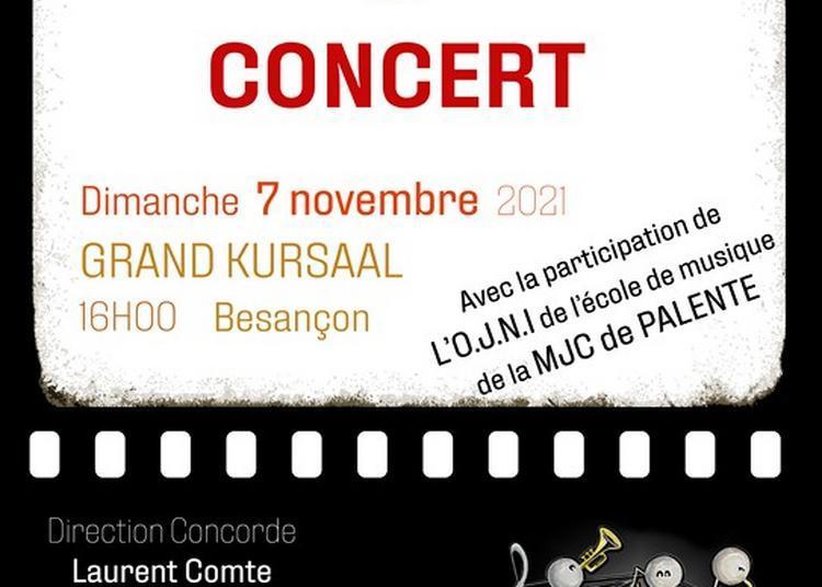 Concert de l'orchestre d'harmonie La Concorde de Saint-Ferjeux à Besancon