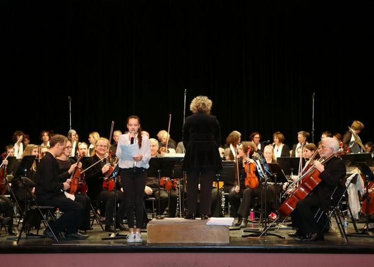 Concert de l'orchestre et des choeurs de l'EMMD à Verneuil sur Seine