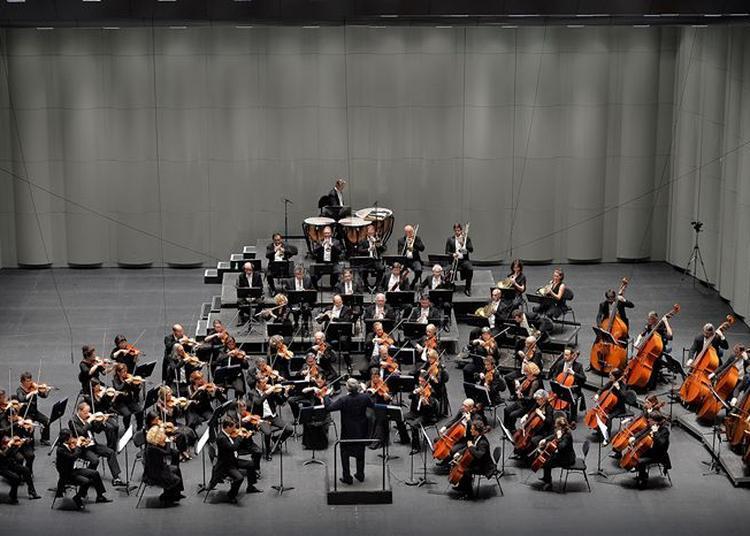 Concert de l'Orchestre national Montpellier-Théâtre la Vignette