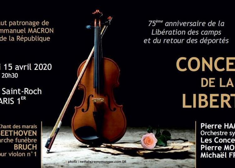 Concert de la Liberté à Paris 1er