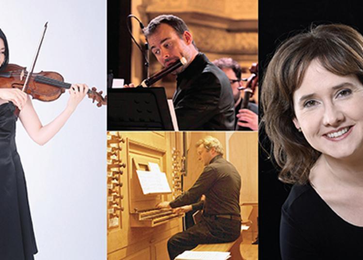 Concert de musique de chambre J. S. Bach : «Le clavier bien entouré» à Saessolsheim