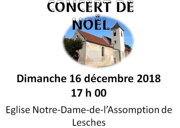 Concert de Noël à Lesches