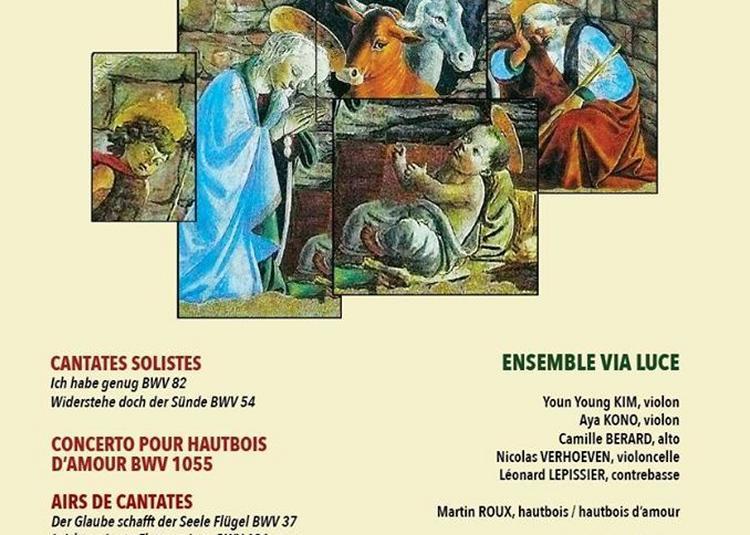 Concert De Noël - Cantates De J.-s. Bach à Paris 6ème