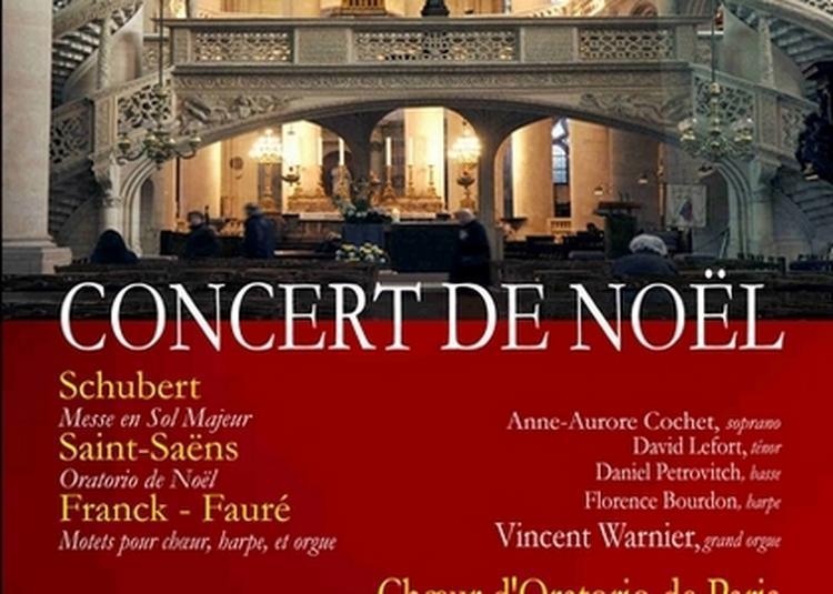 Concert de Noël Eglise Saint Etienne du Mont à Paris 5ème