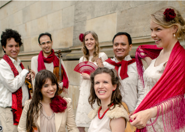 Concert de Noël : Navidad Indigena - Ensemble Los Temperamentos à Paris 5ème