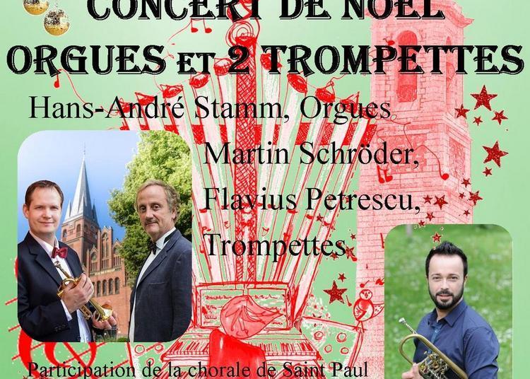 Concert De Noel  Orgues Et 2 Trompettes à Nice