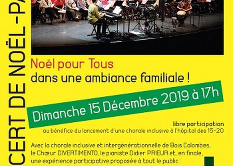 Concert de Noël-Partage à Paris 11ème