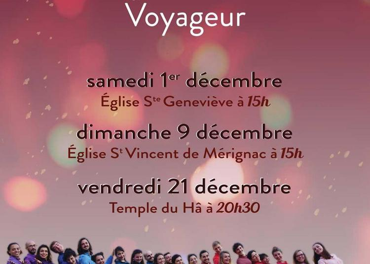 Concert de Noel Temple du Ha à Bordeaux