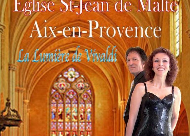 Concert de Pentecôte Solidaire  en l'Église Saint-Jean de Malte                                Duo Canticel « la lumière de Vivaldi » à Aix en Provence
