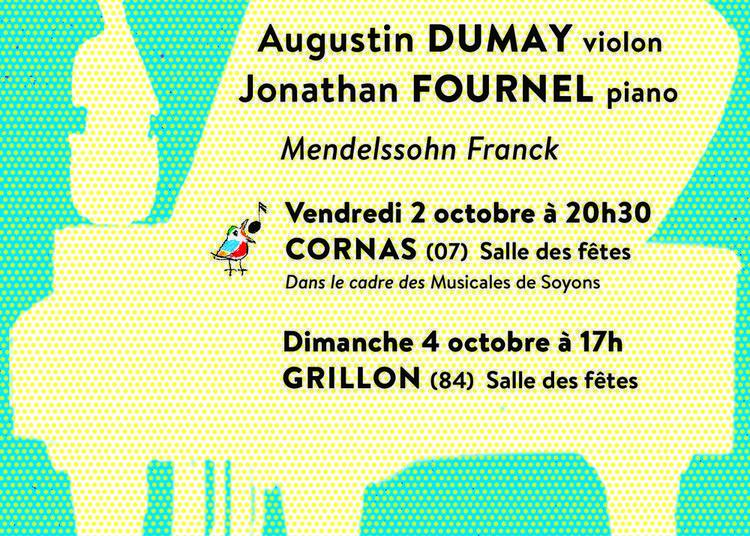 Concert de Poche // Augustin Dumay et Jonathan Fournel à Cornas