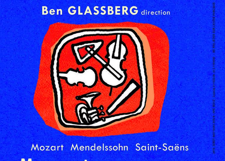 Concert De Poche - Orchestre De Chambre De Paris, Ben Glassberg Direction, Bruno Philippe Violoncelliste & Soliste à Mormant