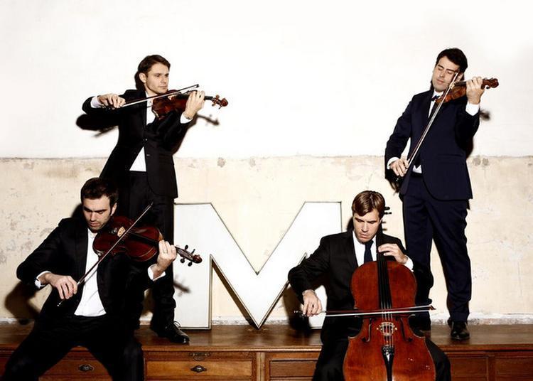 Concert De Poche - Quatuor Modigliani (cordes) à Chateau Thierry