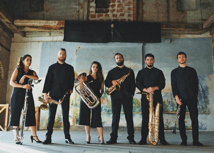 Concert de Poche - Saxback Ensemble à Serres