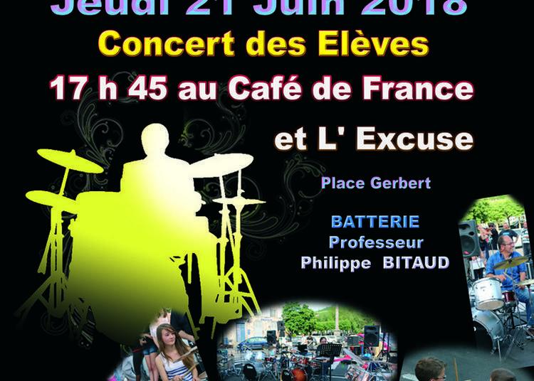 Concert Des élèves De L'École De Batterie Philippe Bitaud à Aurillac