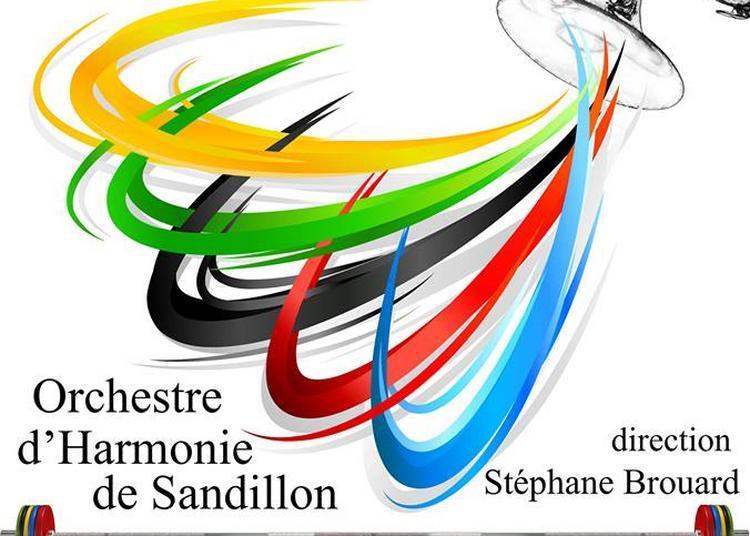 Concert des Jeux Olympiques par l'harmonie de Sandillon