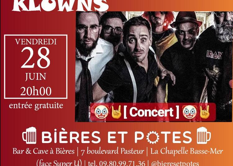 Concert des Klowns à La Chapelle Basse Mer
