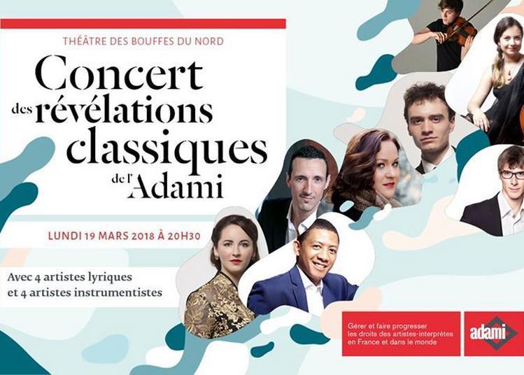 Concert Des Révélations Classiques De L'adami à Paris 10ème