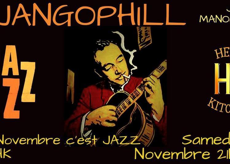 Concert Djangophil Jazz Manouche # Novembre Du Jazz à Sarlat la Caneda