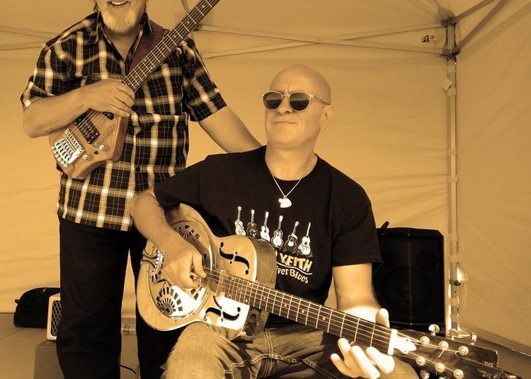 Concert Dobrothersblues (Jeff Toto Blues et Jim Roberts) à Brioude