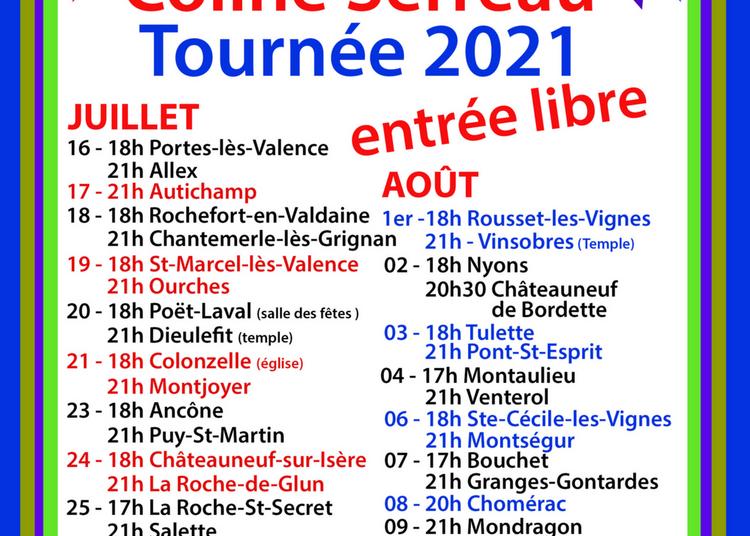 Concert du Choeur Delta de Coline Serreau à Rochefort en Valdaine