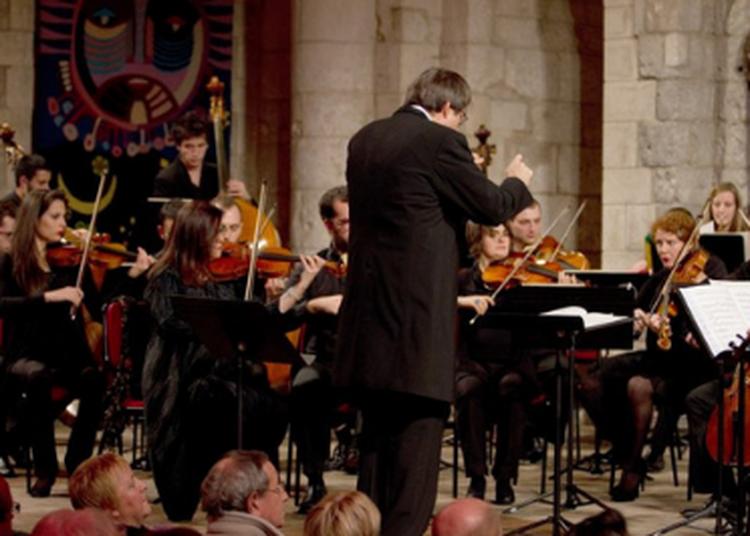 Concert du JOA, sous la direction de David Stern à Saintes