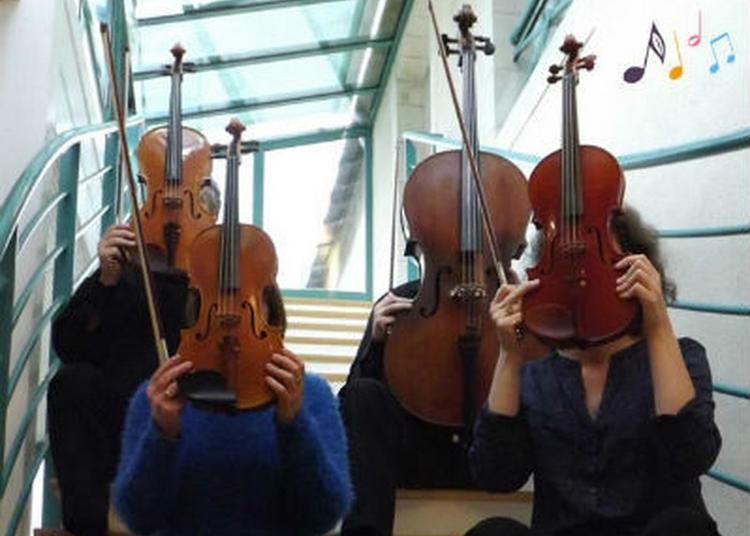 Concert Du Quatuor à Cordes à Melay