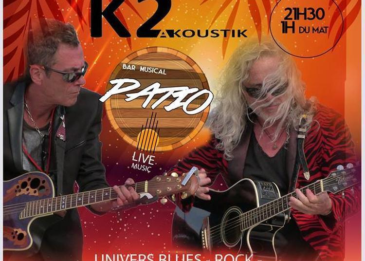 Concert Duo K2 Akoustik à Lattes