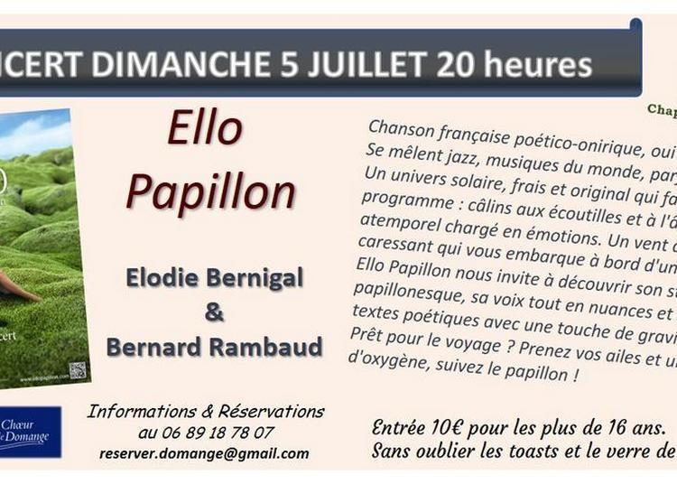 Concert Ello Papillon à Ige