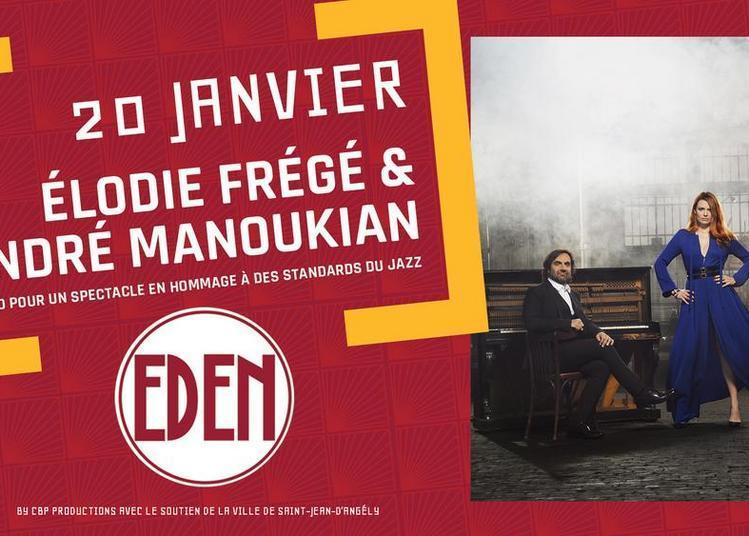 Concert Elodie Frégé & André Manoukian à Saint Jean d'Angely