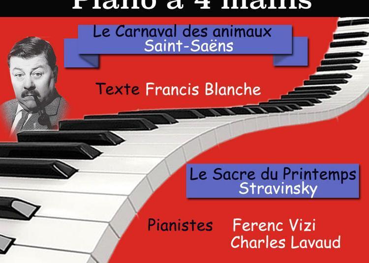 Concert exceptionnel de piano à 4 mains à Paris à Paris 17ème