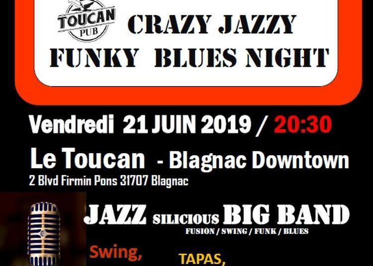 Concert Fête de la Musique de JazzSilicious Big Band à Blagnac