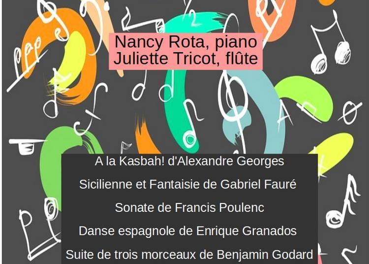 Concert flûte et piano à Barberaz