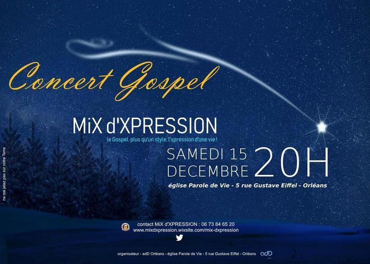 Concert Gospel - Mix D'xpression - Spécial Noël à Orléans