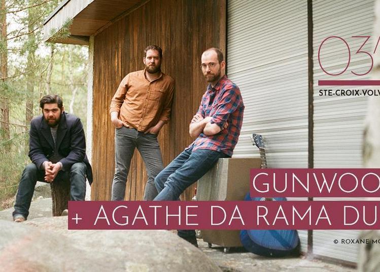 Gunwood et Agathe Da Rama Duo à Sainte Croix Volvestre