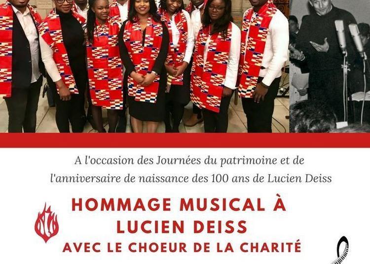 Concert Hommage à Lucien Deiss Par Une Chorale Africaine à Paris 5ème